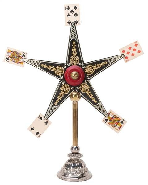 Card Star. Flein: Rüdiger Deutsch, ca. 2000. Handsome hand-...