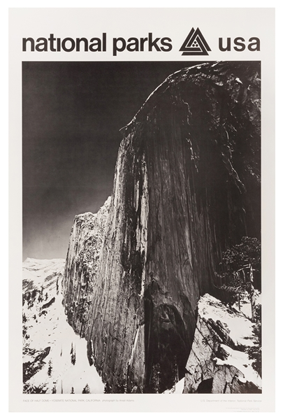 Adams, Ansel. Face of Half Dome / National Parks USA. Washi...