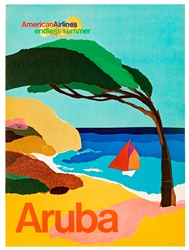 "American Airlines / Aruba. USA, 1970s. From the ""endless su..."