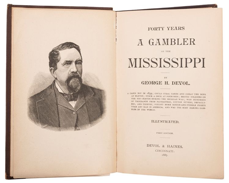 Devol, George H. (1829–1903). Forty Years a Gambler on the ...