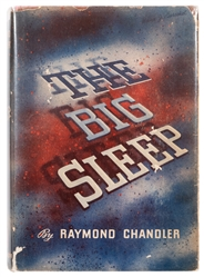 CHANDLER, Raymond (1888–1959). The Big Sleep. New York: Alf...
