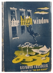 CHANDLER, Raymond (1888–1959). The High Window. New York: A...