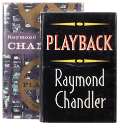 CHANDLER, Raymond (1888–1959). Playback. London: Hamish Ham...