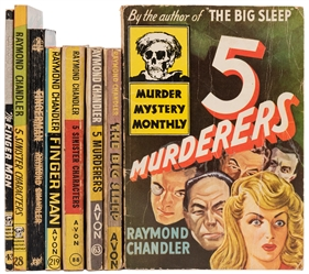 CHANDLER, Raymond (1888–1959). Seven Avon Titles Including ...