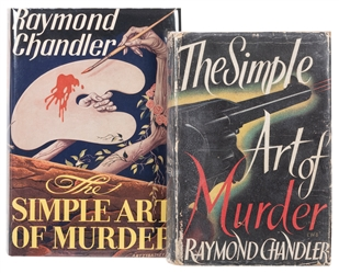 CHANDLER, Raymond (1888–1959). The Simple Art of Murder. Bo...