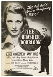 [CHANDLER, Raymond]. The Brasher Doubloon Pressbook. 20th C...