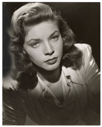 "BACALL, Lauren (1924–2014). Original Portrait Still for ""Th..."